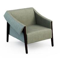 3d model armchair ara
