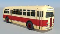 zis-154 bus 3d model