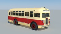 zis-155 bus 3d 3ds