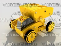 toy truck module kit 3d max