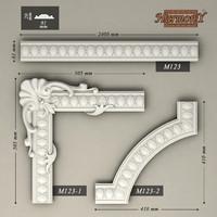 molding corner elements harmony 3d max