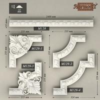 molding corner elements harmony 3d 3ds