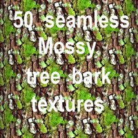 Mossy Tree Bark Mega Collection 1