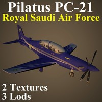 3d model pilatus rsf