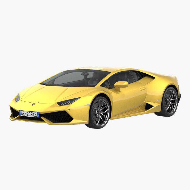 Lamborghini Huracan 3d model 00.jpg