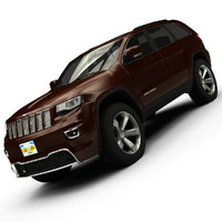 2014 jeep grand cherokee 3d obj