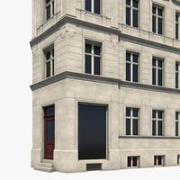 berlin house frankfurter 3d model