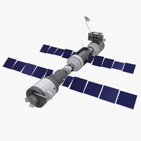 space station satellite