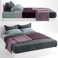 bed cover 3d model