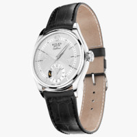 Rolex Cellini Dual Time White Gold White Dial