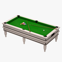 3d billard table