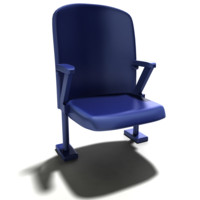 3ds max bleacher chair