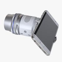 3d photoreal smart camera olympus
