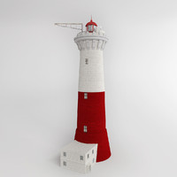 lighthouse phare 3d max