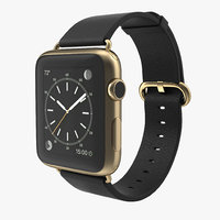 3d apple watch classic buckle model