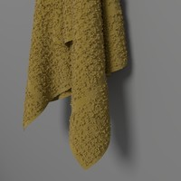 simple towel 3d blend