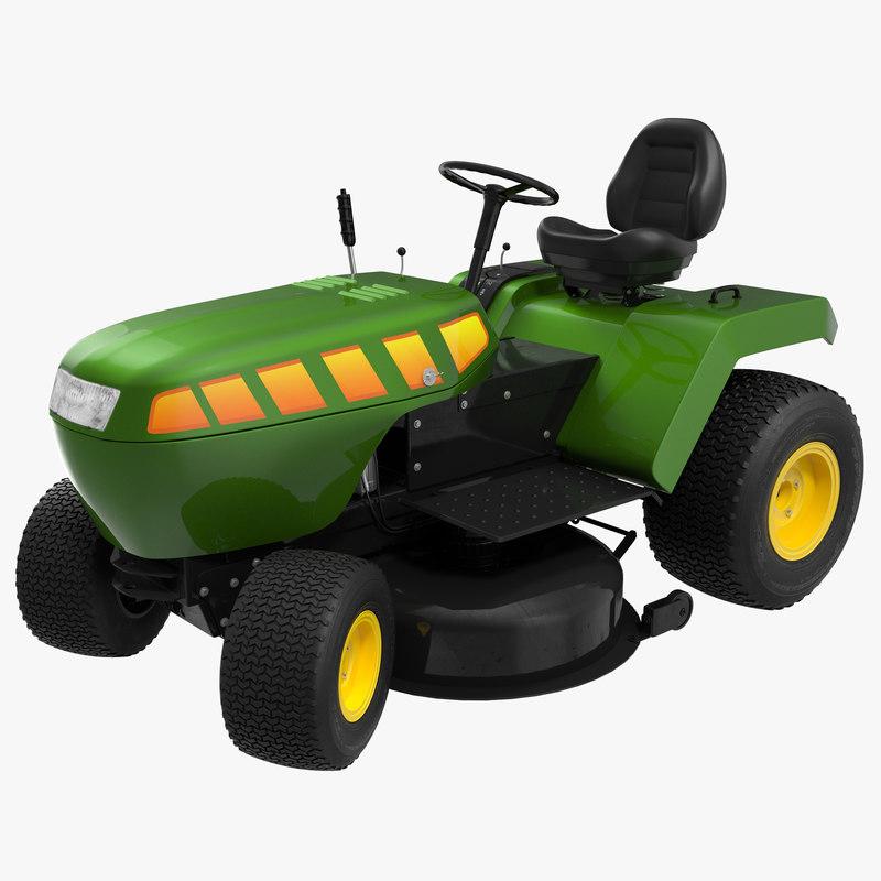Lawn Tractor 3d model 00.jpg