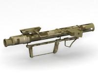 3d bazooka model
