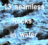 Rocks in Water Collection 1