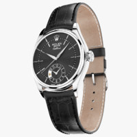 Rolex Cellini Dual Time White Gold Black Dial
