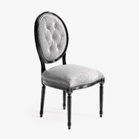 3dsmax eichholtz dining chair louis