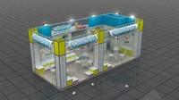 3d fair stand verdino model