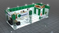 3d fair stand baharot model