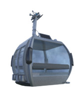 ropeway cabine 3d max