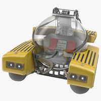 3d model triton submarine