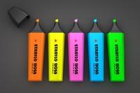 stabilo marker pen 3d model