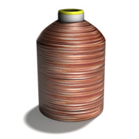 copper thread 3d model