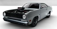duster 1970 3d model