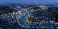 3d model of city planning 044