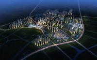 3d city planning 048 model
