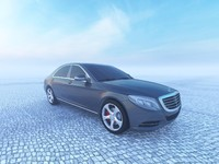 3d 2014 mercedes s-class w222 model