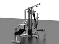 weight set 3d model