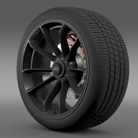 Porsche 911 GT3 RS 2015 wheel