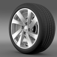3d 3ds seat mii wheel