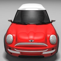 bentley mini cooper sport 3d model