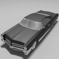 1966 pontiac bonneville 3d model