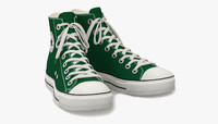 Converse All Star Sneakers ( Green )