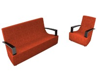 Sofa and Armchair set