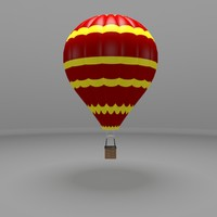 hot air ballon 3d 3ds