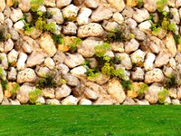 Stone wall 76