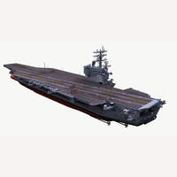 3d model uss ronald reagan