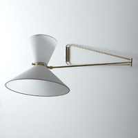3d max wall sconce pierre guariche