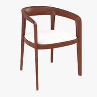 3d corvo armchair