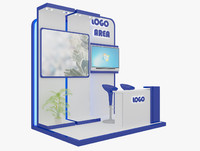 kiosk partition booth max