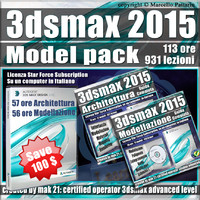 3ds max 2015 Model Pack Subscription