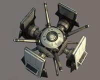 drone spy 3d model